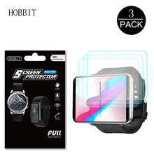 3Pack For LEMFO LEMT 2.86 Inch Smart Watch Screen Protector Anti-scratch Anti-bubbles Protection Ultra-thin Film for Lemfo LEM T