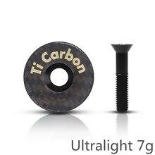 Карбоновая гарнитура, велосипедная стебля, углеродная велосипедная стебля, верхняя крышка с винтом для 28,6 мм 1 1/8 дюйма, стебель, вилка, трубка, крышка s, крышка для гарнитуры