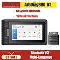 Автомобильный диагностический сканер TOPDON ArtiDiag800 BT OBD2, диагностический инструмент PK MK808BT