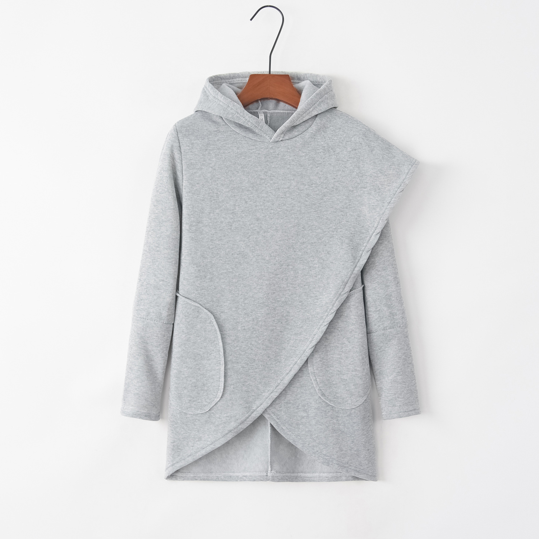 Cross Line Irregular 2020 New Design Hot Sale Hoodies Sweatshirts Women Casual Kawaii Harajuku Sweat Girls European Tops Korean