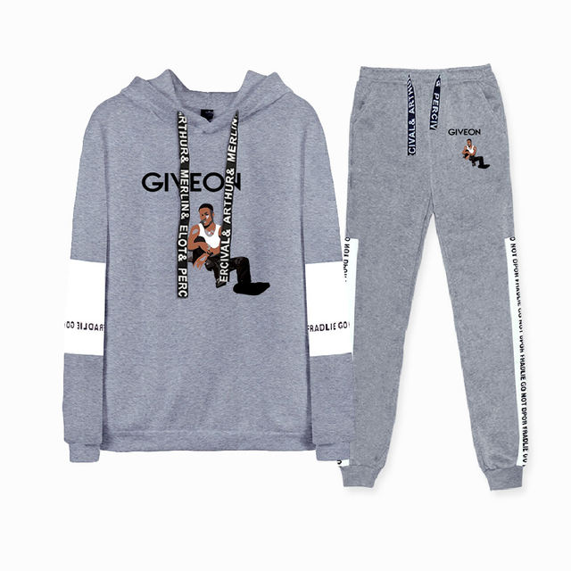 SET GIVEON THEMED HOODIE + TROUSERS (12 VARIAN)