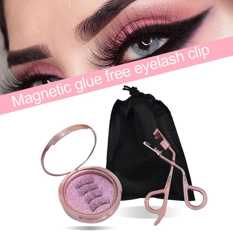 Premium Magnetic Lash Applicator Tool Eyelash Curler Magnetic Lashes Clip Easily Apply Magnetic Lashes Tools