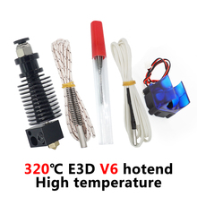 E3D V6 Hotend Kit High temperature version 300 degrees Celsius J head 3D Printer Parts 0