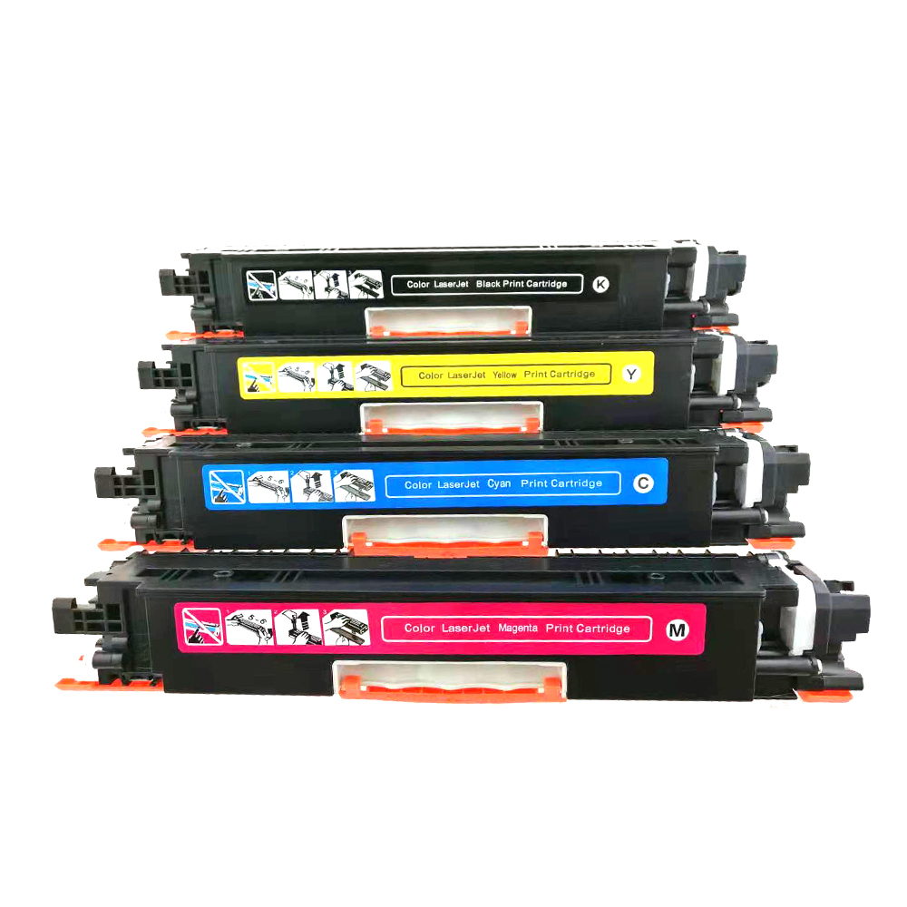 Image 4 - CE310A CE310A 313A 126A 126 Compatible Color Toner Cartridge For HP LaserJet Pro CP1025 M275 100 Color MFP M175a M175nw Printer-in Toner Cartridges from Computer & Office