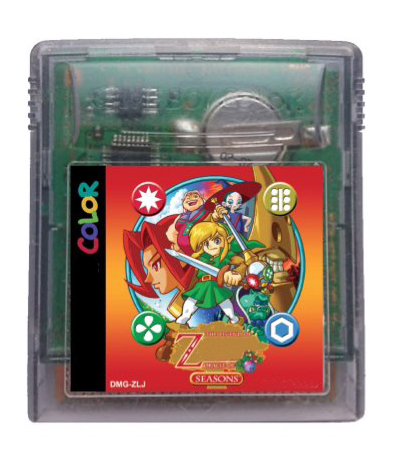 8bit game card : The Legend of Z - Oracle of Seasons ( English Language!! Save is ok!! ) image