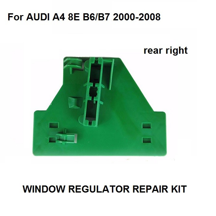 CAR STYLING OE#8E0839462 FOR AUDI A4 B6 B7 ELECTRIC WINDOW REGULATOR REPAIR CLIP REAR RIGHT 2000-2008 NEW