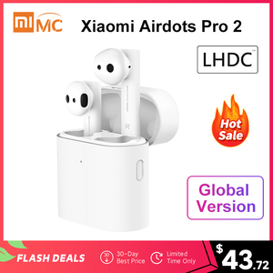 New Xiaomi Air 2 TWS Airdots Pro 2 Mi True Wireless Earphone Noise Canceling LHDC Tap Control HD Sound Quality Dual MIC ENC(China)