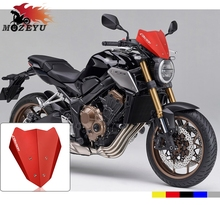 Cnc Accessoires Aluminium Motorfiets Voorruit Voor Honda Hornet CB650R Cb 650R 2018 2019 Motorbike Wind Screen Extention Kit