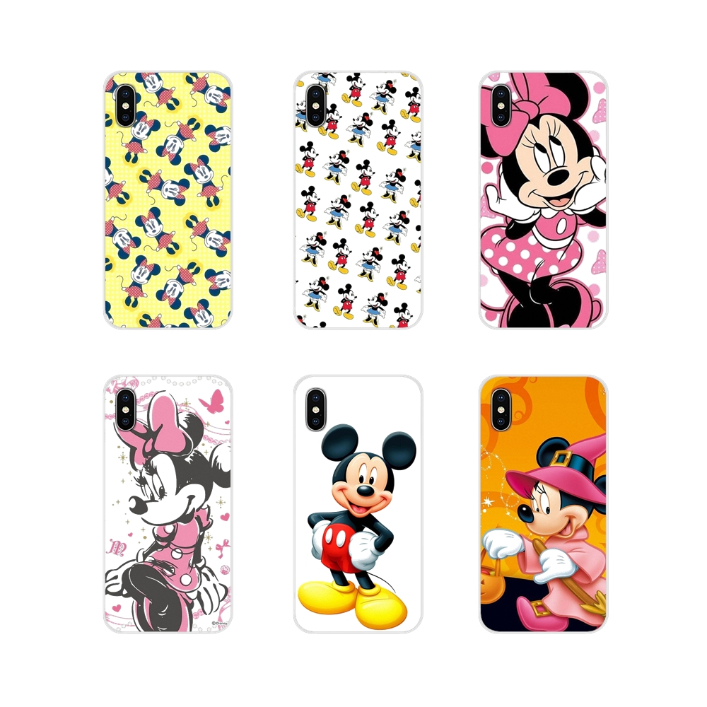 Mickey Mouse And Donald Duck Accessories Cover Bag For LG G3 G4 Mini G5 G6 G7 Q6 Q7 Q8 Q9 V10 V20 V30 X Power 2 3 K10 K4 K8 2017