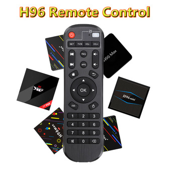 H96 Remote Control for Android TV box be applicable H96/H96 PRO/H96 PRO +/H96 MAX H2/H96 MAX PLUS/H96 MAX X2/ X96 MINI/ X96 .etc