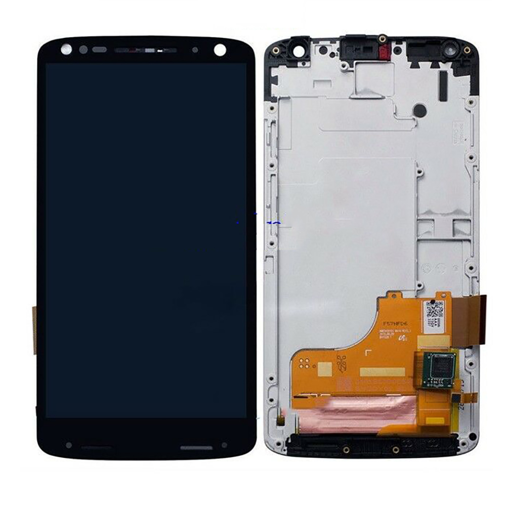Original 5.4'' For Motorola Moto X Force XT1580 LCD Display Touch Screen Digitizer with Frame For MOTO X Force Display XT1580