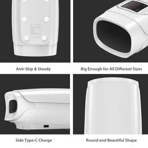 Image 5 - Pma電動ハンドマッサージヤシの指ツボワイヤレスマッサージエア圧力と熱圧縮
