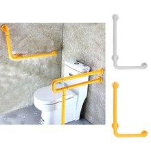 L-образная Нержавеющая Сталь Настенная Ванная комната Душ Туалет Ванна поручень безопасности поручень помощь Инструмент Противоскользящий