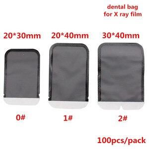 100Pcs/bag Dental Consumables Materials Dental Barrier Envelopes Dental Bags For X-ray Film 0# 1# 2# X-ray Film Bags Dentist Lab(China)