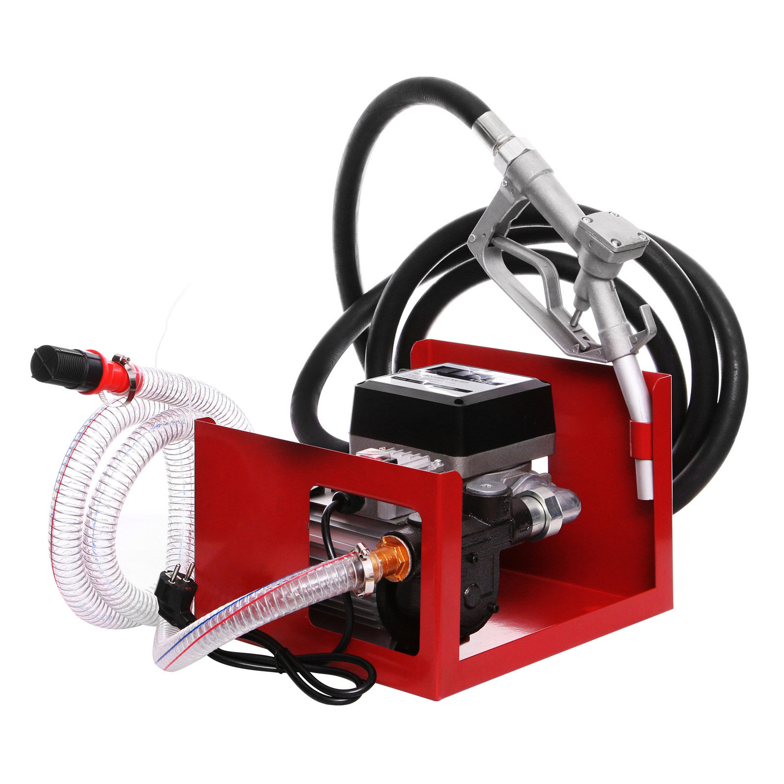 FREE SHIPPING H/D Self Priming Electric Oil Pump Transfer Bio Fuel Oil Diesel 220-240V 60L/Min