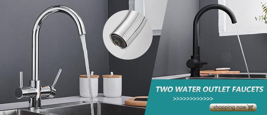 H5d597485176c42a2a3d1655efafc0419V ELLEN Multifunction Bathroom Sink Faucet Hot Cold Water Mixer Crane Antique Bronze Deck Mounted Universal Water Taps EL1326