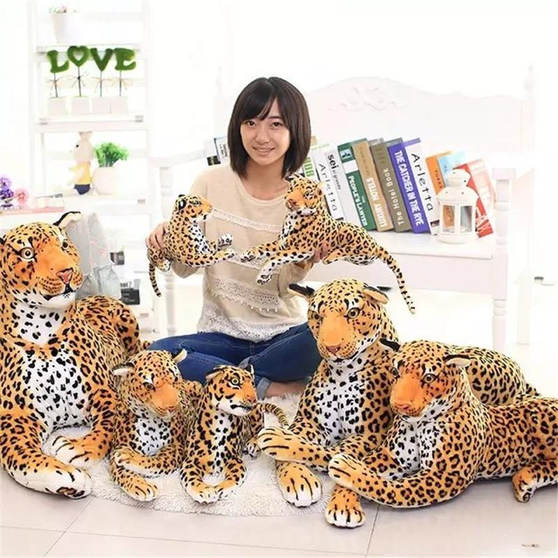 Leopard Plush Toy Stuffed Soft Animal Hand Warmer Soft Cute Plush Toys For Boys Stuffed Animals Zabawki Plush Toys JJ60MR