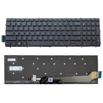 Reemplazo de Teclado retroiluminado para Dell G3-3579 G3-3779 G5-5587 G7-7588 portátil de juegos