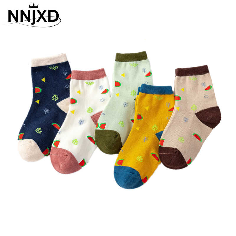 High Quality Fashion Comfortable 5 Pairs Sock Cotton Children/'s Baby Cute Socks
