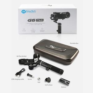 Image 5 - FeiyuTech G6 Plus 3 osiowy ręczny stabilizator dla smartfonów Gopro Hero 7 6 5 Sony RX0 Samsung s8 800g ładunku Feiyu G6P