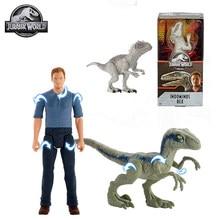 Figurine de dinosaure Jurassic World originale, jouets chauds pour garçons, figurines d'action Indominus Rex Jurassic World