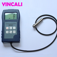 Fast Shipping Digital Paint Coating Thickness Gauge DR360 Rubber Powder Coating Thickness Tester test Magnetic thickness method