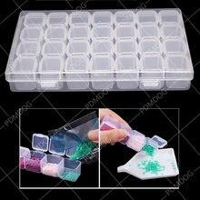 28 сетка разборная коробка для алмазной живописи вышивка аксессуары