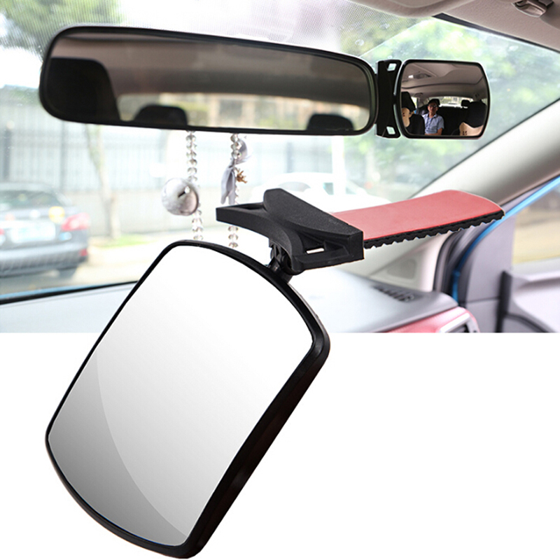 Baby Car Seat Rear View Mirror Facing Back Infant Kids Child Toddler Ward Safety happy