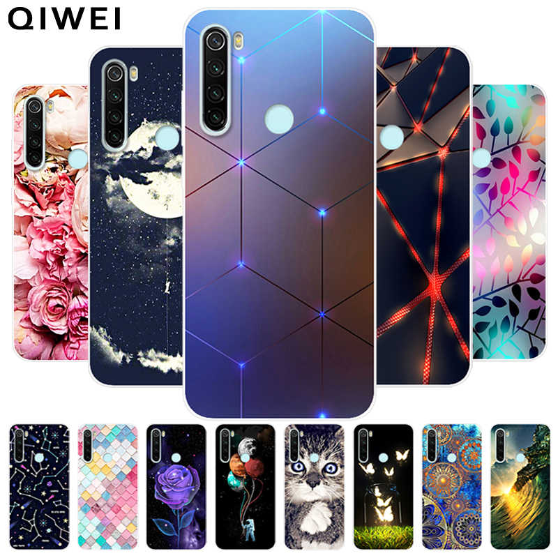 For Xiaomi Redmi Note 8T Case Fashion Cute Soft silicone TPU Back Cover Coque for Redmi Note 8 Note8 Pro Note8t 8 t Phone Cases