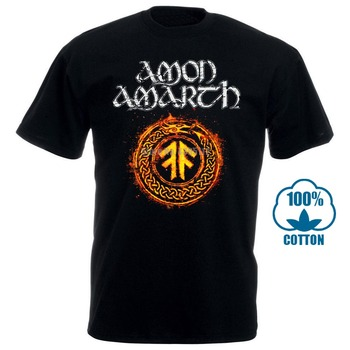 Amon Amarth The Pursuit Of Vikings T-Shirt Men T Shirts Funny Harajuku Shirt Cool T-Shirts White Boys Tshirt