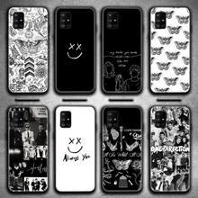 Larry Stylinson Tattoos One Direction Phone Case For Samsung Galaxy A21S A01 A11 A31 A81 A10 A20E A30 A40 A50 A70 A80 A71 A51