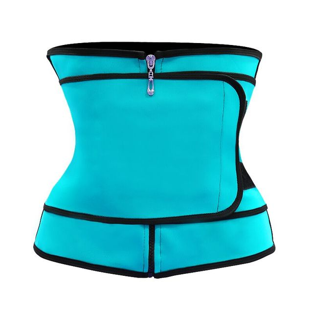 4 Colors Slimming Belt Corset Sweat Waist Trainer Slimming Body Shaper Women Tummy Control Belt Firm Breathable Health Care Tool 2