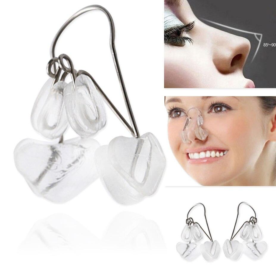 La nariz levantar la forma Shaper Clip de ortesis belleza nariz adelgazamiento masajeador enderezar Clips herramienta de la nariz Clip Corrector