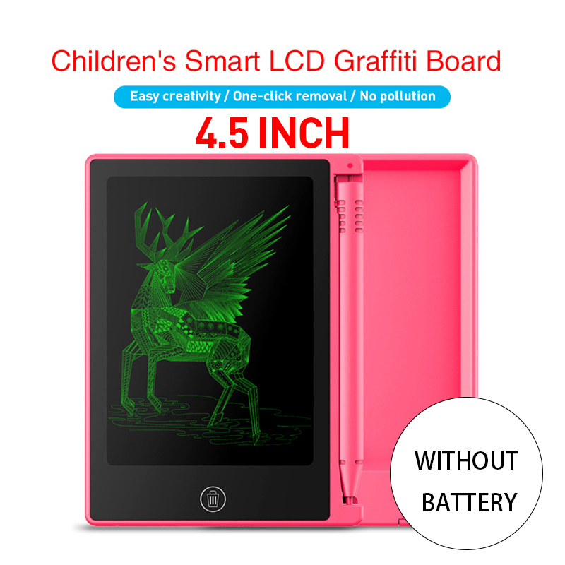Z03N2 4.5 Inch LCD Writing Board Electronic Tablet Without Battery For Children Kids  Adult 4.5