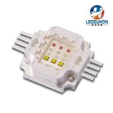 Горячая 12 Вт RGBW 40Mil чип в белый квадратный светодиодный модуль