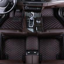 De la alfombra del coche para bmw serie 1 E81 E87 F20 F21Convertible E88 Coupe E82 118i 120i 125i 128i 130i 135i alfombra