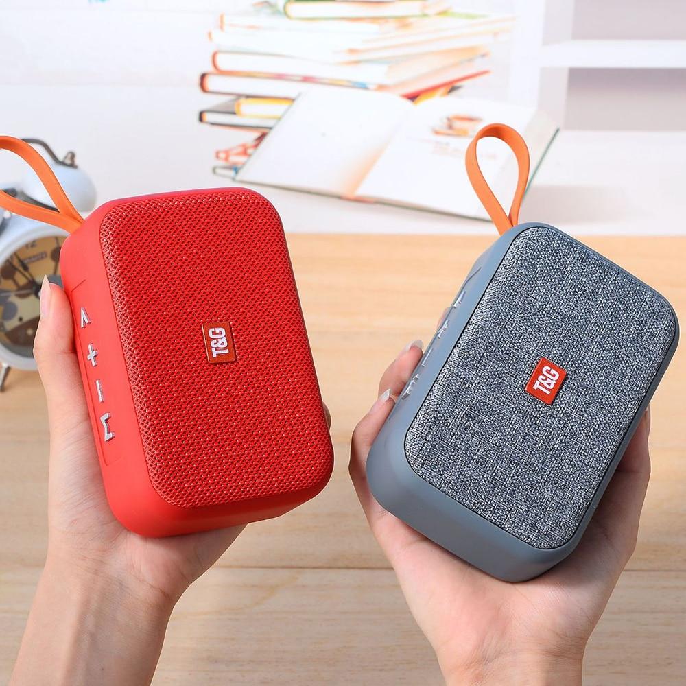 TG506 altavoz portátil Bluetooth tarjeta U disco de tela portátil inalámbrico Mini altavoz para regalo altavoz