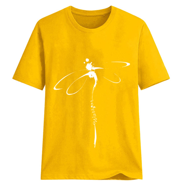 dragonfly design tee 3
