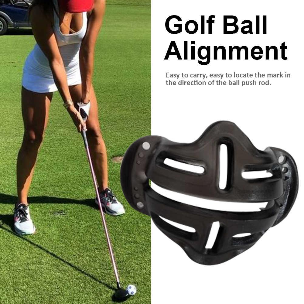 גולף כדור יישור קו סמן חדש עיצוב זיהוי כלי מכה מיצוב כדור גולף סימון מעטפת גולף עזרי הדרכה