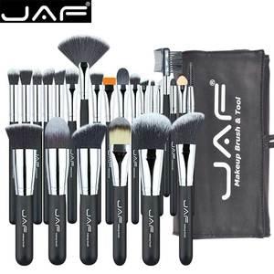 Image 5 - JAF 24 sztuk profesjonalny zestaw pędzli do makijażu wysokiej jakości pędzle do makijażu szczotki pełna funkcja Studio syntetyczny makijaż zestaw narzędzi do J2404YC B