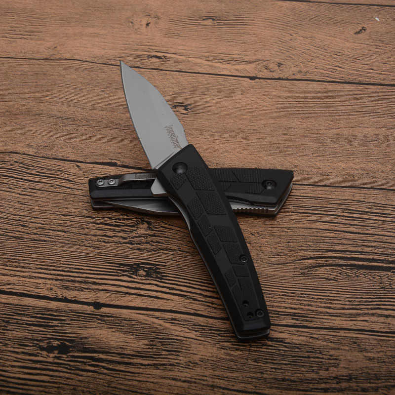Kershaw 1342 มีดพับ 8cr13 ใบมีดอลูมิเนียม Handle outdoor camping Hunt survival มีดยุทธวิธี EDC เครื่องมือ