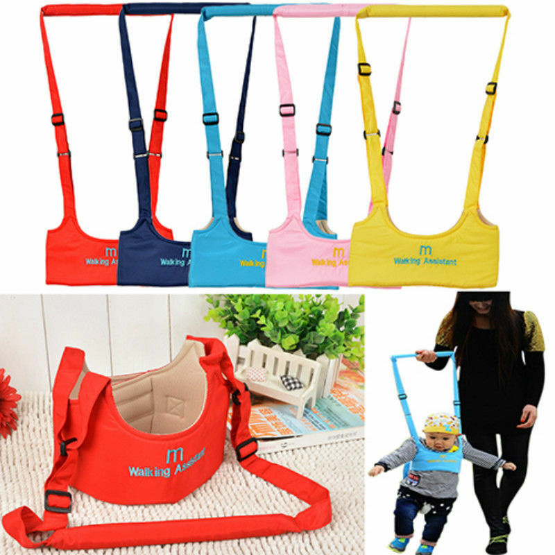 NEW Walking Harness Aid Assistant Safety Rein Train Baby Toddler Learn To Walk Leashes