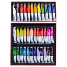 Offre spéciale 12/24 couleurs peinture acrylique professionnelle 20ml dessin peinture Pigment peint à la main pour enfants bricolage artiste
