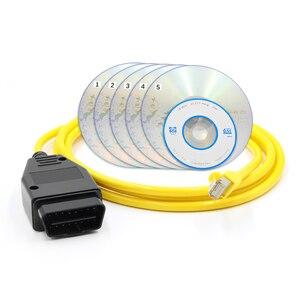 Image 5 - ESYS ENET USB كابل PSdZData V50.3 ل BMW F السلسله ESYS1 3 5 6 7 X3 التحديث الخفية البيانات E SYS ICOM الترميز ECU مبرمج ماسحة