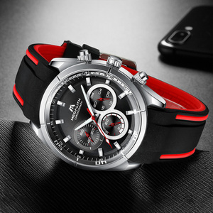 Image 2 - MEGALITH 2019 New Arrivals Watches for Men Top Brand Luxury Casual Sport Waterproof Watch Man Clock Military Chronograph watches