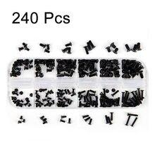 Kit de vis pour ordinateur portable, 500 pièces, M2 M2, 5 M3, petites vis Phillips à tête plate
