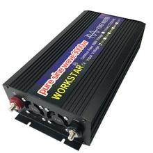 цена на WORKSTAR Peak 3000W Pure Sine Wave OFF Grid DC12V/24V to AC220V 50HZ/60HZ Power Inverter House-use Converter for Solar System