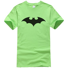 Summer New Men's T-Shirt Super Hero T-shirt Batman T-Shirt Men's Summer Style Cotton Short Sleeve Print T-Shirt