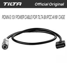Ronin S 12 فولت كابل الطاقة ل Tilta BMPCC 4K/6K قفص