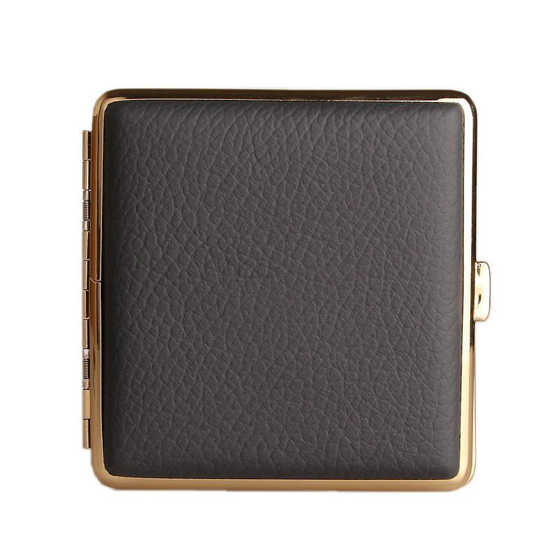 Yooap Portable Card Case Leather High-end Fine Cigarette Box Exquisite Gift Mens and Womens Pop Gadgets